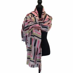 NWT Love & Lore water color blanket scarf